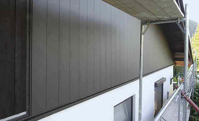 metallfassaden andreas k stner dachdeckerei und spenglerei. Black Bedroom Furniture Sets. Home Design Ideas